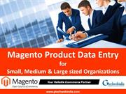 Magento Bulk Product Upload service with Product Description Writing