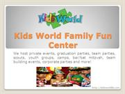 Looking for Best kids birthday party places Los Angeles
