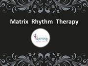 German Therapy Center in Hyderabad, Matrix rhythm therapy in Hyd