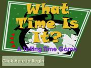 Telling Time Hour and Half Hour