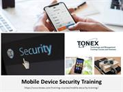 Mobile Device Security Training