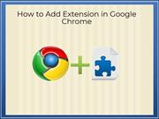 How to Add Extension in Google Chrome | Google Chat Support