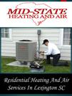 Residential Heating And Air Services In Lexington SC