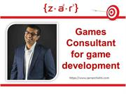 Games consultant: A job of great creativity