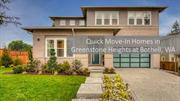 Quick Move-In Homes in Greenstone Heights at Bothell, WA