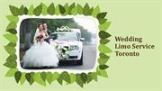 Wedding Limo Service Toronto at EliteGTAlimo.com