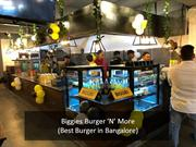 Burger Joint Restaurant in Bangalore- Biggies Burger 'N' More