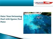 Paint Your Swimming Pool with Epotec Pool Paint