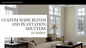 Custom Made Blinds and Plantation Shutters in Sydney