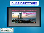 Dubai travel packages by dubaidailytours