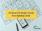 2018 UX Design Trends | Mobile App UX Design