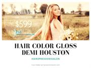 Hair Color Gloss demi Houston