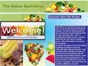 Find to Ayurvedic Detox Diet Recipes Your Way to Health