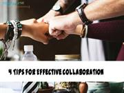 4 Tips for Effective Collaboration | Creative Universe