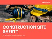 Contruction Site Safety App to Ensure SAfer Workplace