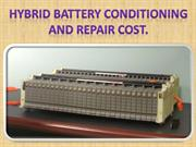 Get Prius Hybrid Battery Replacement