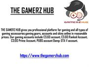 CSGO ACCOUNTS | THE GAMERZ HUB