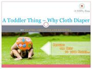 A Toddler Thing | Cloth Diaper Online