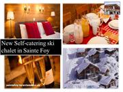 New Self-catering ski chalet in Sainte Foy