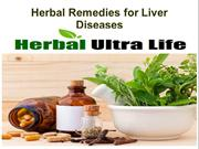 Herbal Remedies for Liver Diseases