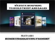 WEBSITE MORPHING