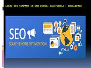 Local SEO Company in San Diego, California - Local1page