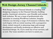 Web Design Jersey Channel Islands