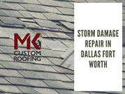 STORM DAMAGE REPAIR IN DALLAS FORT WORTH