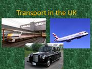 Transport in the UK