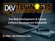 Web development & designing services- Dev Technosys Pvt. Ltd.