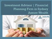 Investment Advisor | Financial Planning Firm in Sydney – Assure Wealth