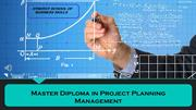 Master Diploma in Project Planning Management