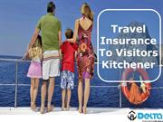 Travel Insurance to Visitor Kitchener