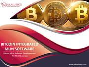 Bitcoin MLM Software Developement For MLM Business