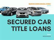 Secured Car title loans in Mississauga