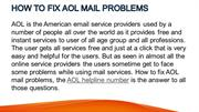 HOW TO Fix AOL MAIL PROBLEMS