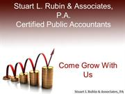 Stuart L Rubin & Associates, PA - Certified Public Accountants
