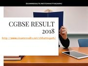 CGBSE Result 2018, CGBSE 10th & 12th Result 2018, cgbse.nic.in