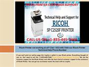 Contact us 1-833-445-7444 through our Ricoh Printer Technical Support