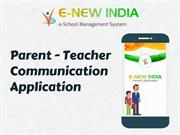 Parent-Teacher Communication Application | School ERPSystem