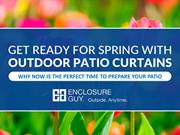 Why Is Spring The Perfect Time To Invest In Patio Enclosures For Your