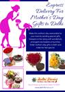 Express Delivery For Mother's Day Gifts To Delhi