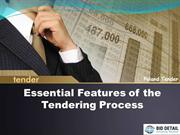 Essential Features of the Tendering Process - BidDetail
