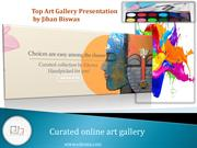 Top Art Gallery Presentation by Jiban Biswas