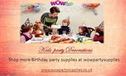 kids party decorations | kids party supplies-wowpartysupplies