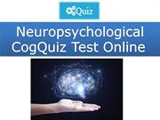 Neuropsychological CogQuiz Test Online