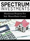 Handyman Property For Sale Miami-Dade County