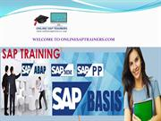 SAP Online Training by Online SAP Trainers