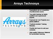 PHP Training by Arrays Technosys