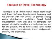 Features of Travel Technology